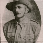 Albert Borella as Private. This photo was thought to have been taken in either Townsville or Brisbane QLD prior to embarkment.