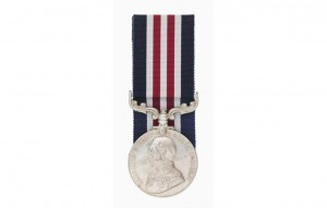 1917: Borella awarded the Military Medal