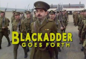 The title sequence from Blackadder Goes Forth (Public domain)
