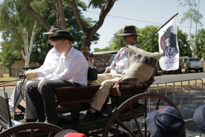 Part of Albert Borella's journey included a ride on a mail cart from Katherine to Pine Creek, which will be represented during The Borella Ride.
