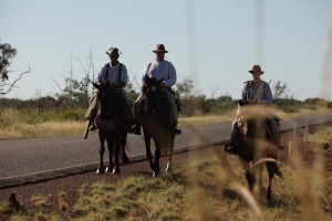 The Borella Ride transitions to horseback on Day 4 of the journey.