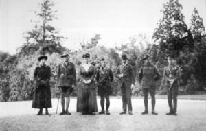1918: Borella presented the Victoria Cross