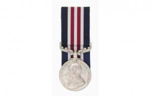 1917: Borella awarded the Military Medal