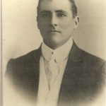Albert Borella. Portrait is believed to have been taken in his 20's. (Borella Collection)
