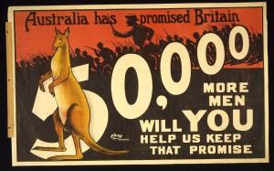1915: Borella travels to Darwin to enlist